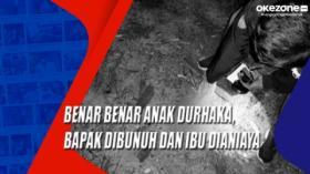 Benar Benar Anak Durhaka, Bapak Dibunuh dan Ibu Dianiaya di Samosir, Sumut