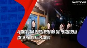 4 Orang Dibawa ke Polda Metro Jaya dari Penggerebekan Kantor Pinjol di Kelapa Gading