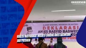 Koalisi Masyarakat Inisiatif Dukung Anies Baswedan jadi Presiden