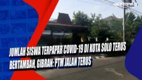 Jumlah Siswa Terpapar Covid-19 di Kota Solo Terus Bertambah, Gibran: PTM Jalan Terus
