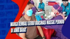 Warga Kembali Serbu Vaksinasi Massal Perindo di Jawa Barat