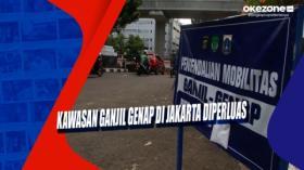 Kawasan Ganjil Genap di Jakarta Diperluas