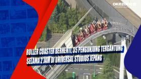 Roller Coaster Berhenti, 35 Pengunjung Tergantung Selama 2 Jam di Universal Studios Jepang