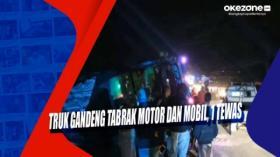 Truk Gandeng Tabrak Motor dan Mobil, 1 Tewas di Pasuruan Jatim