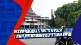 Pihak UNS Serahkan 21 Panitia ke Polisi terkait Meninggalnya Peserta Diksar Menwa