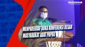 Menparekraf Buka Konferensi Besar Masyarakat Adat Papua