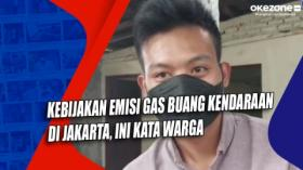 Kebijakan Emisi Gas Buang Kendaraan di Jakarta, Ini Kata Warga
