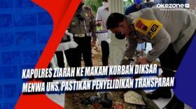 Kapolres Ziarah ke Makam Korban Diksar Menwa UNS, Pastikan Penyelidikan Transparan