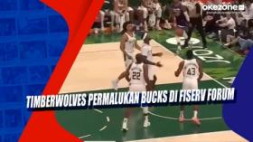 Timberwolves Permalukan Bucks di Fiserv Forum