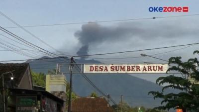 Erupsi Gunung Raung, Suara Gemuruh Terdengar dari Radius 16 KM
