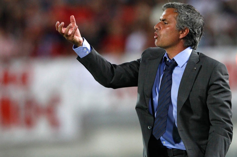 Pelatih baru Real Madrid, Jose Mourinho