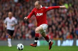 Aksi Wayne Rooney saat pertandingan