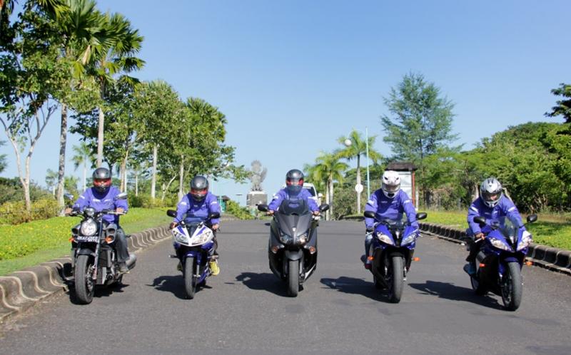 Moge Yamaha Menyapa Pulau Dewata Okezone Foto
