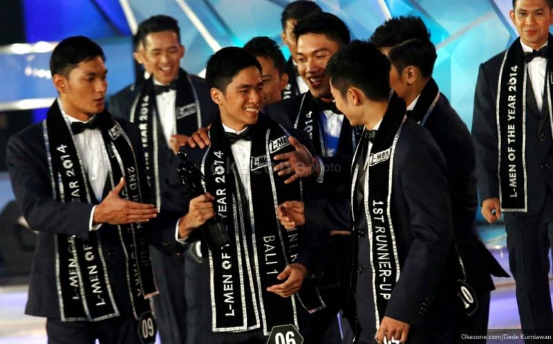 Foto Cowok L Men: Yohannes Kevin L-Men Of The Year 2014 : Okezone Foto