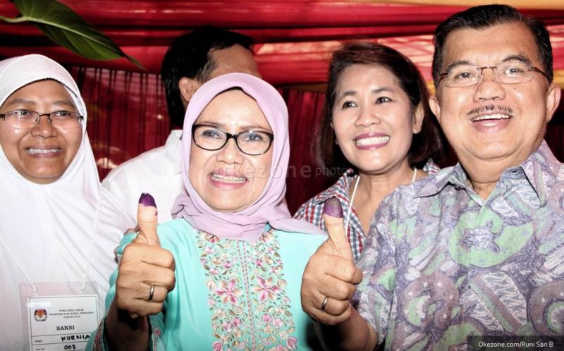 Istri Jusuf Kalla istri  Mufidah Jusuf Kalla
