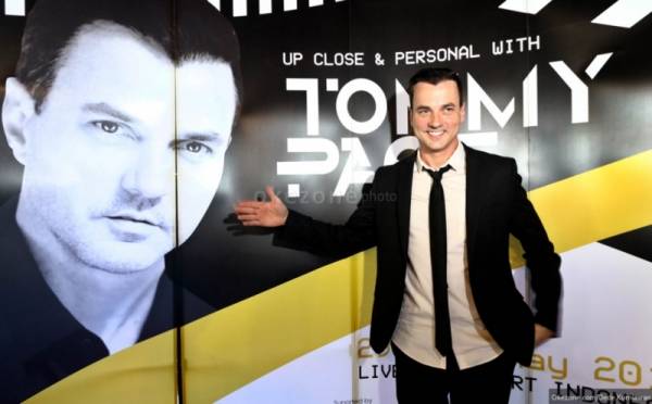 Press Conference Tommy Page