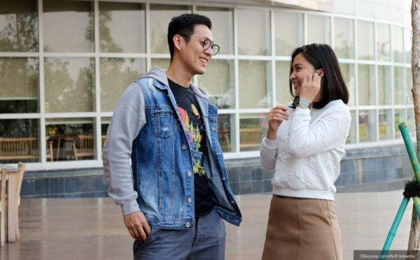 Pasangan Artis Tian-Junior Liem