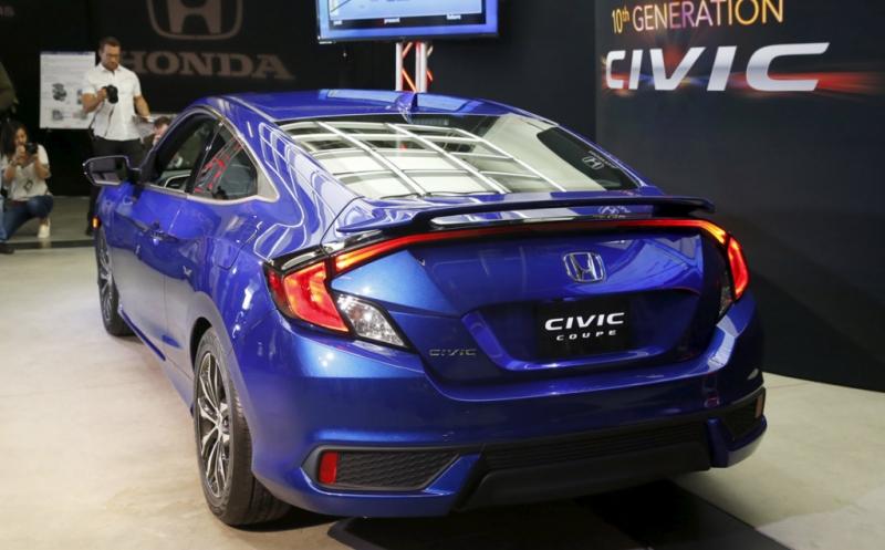 Honda Pamer Civic Coupe Di Los Angeles Auto Show Okezone