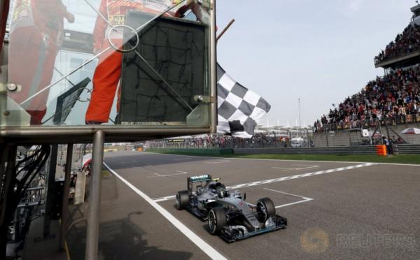 Rosberg Tercepat di GP China