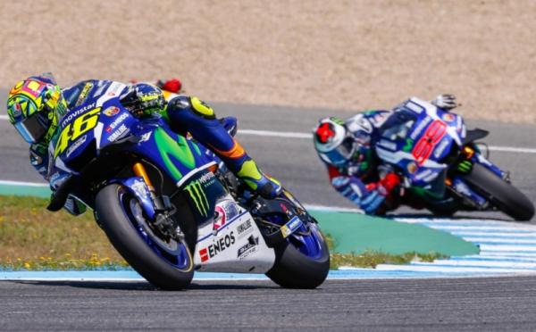 Rossi Tercepat di Jerez