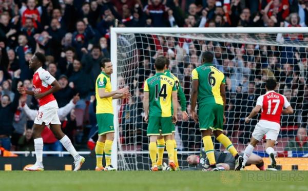 Arsenal Kandaskan Norwich