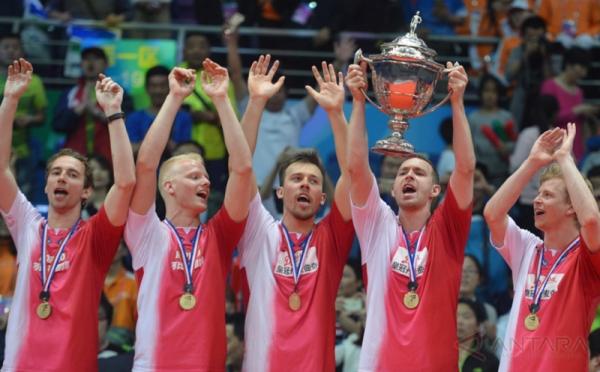 Denmark Juara Piala Thomas 2016