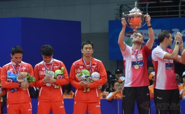 Indonesia Gagal Juara Thomas 2016