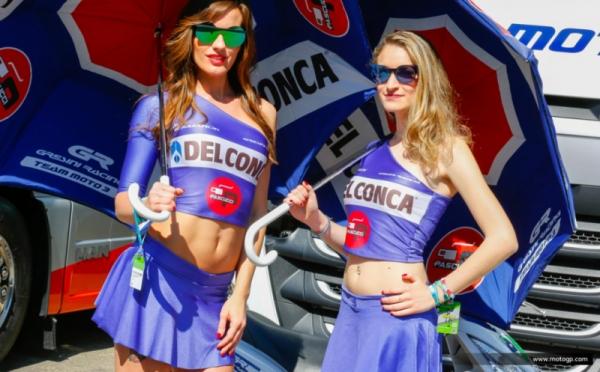 Si Cantik di GP Italia