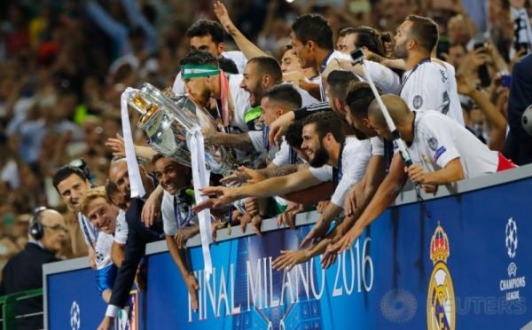 Real Madrid Dapat Gelar Juara ke-11 di Liga Champions 2015-2016