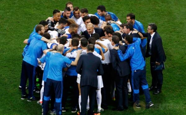 Ekspresi Pemain Real Madrid Saat Adu Penalti