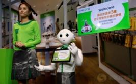 <p>  Papper merupakan robot humanoid buatan perusahaan Jepang, SoftBank Robotics. Robot ini mempunyai kemampuan bahasa yang baik.</p>
