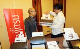 <p>  Fujitsu meluncurkan scanner untuk dokumen terbarunya mencakup fi-Series, N7100, dan ScanSnap S1100i di pasar Indonesia.<br />  </p>