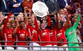 Manchester United keluar sebagai kampiun Community Shield 2016 usai mengalahkan Leicester City lewat skor 2-1 di Stadion Wembley, Minggu (7/8/2016) malam WIB. Gol Man United dikemas Jesse Lingard dan Zlatan Ibrahimovic, sementara satu gol Leicester dicetak Jamie Vardy.