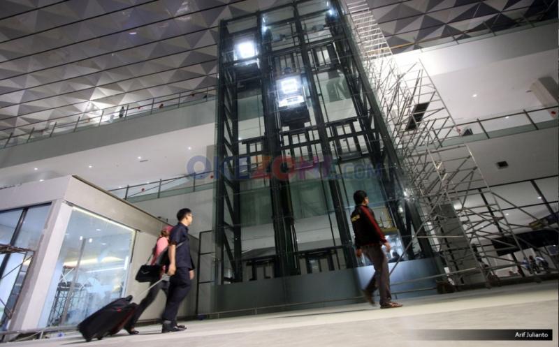 Fasilitas Lift di Terminal 3 Ultimate Bandara Soetta