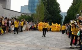 <p>  Parade Pikachu yang berlangsung di antara aneka kegiatan Pikachu Outbreak di Yokohama, Jepang, Sabtu (13/8/2016), sungguh menawan. Gerak seragam dan lucu, sangat menghibur wisatawan.</p>
