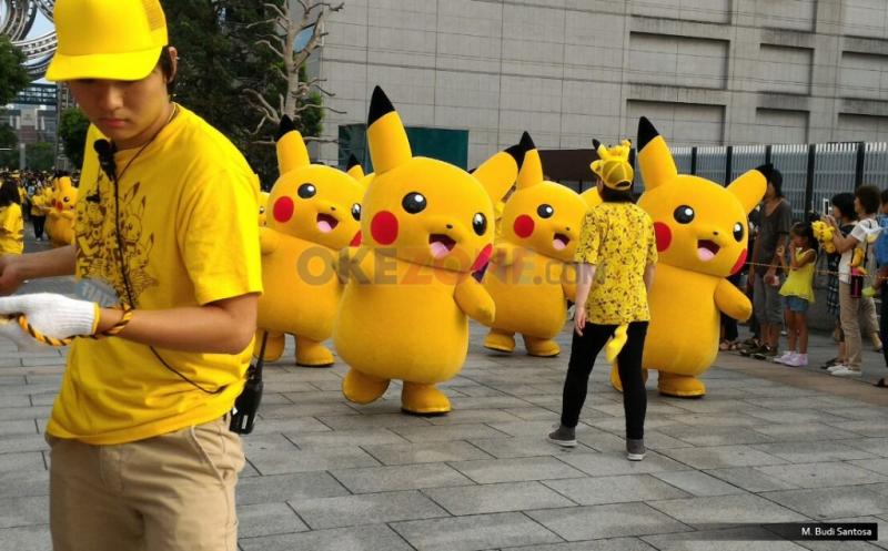 Parade Pikachu nan Menawan Hati