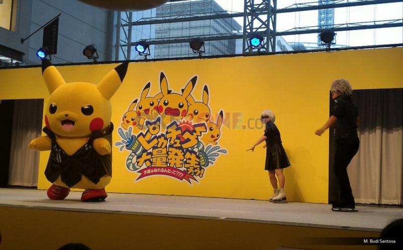Pikachu Main Air dan Skating