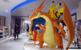 <p>  Bagi Anda yang menginginkan aneka merchandise Pokemon, dapat membeli di berbagai toko. Salah satunya yang terbesar adalah toko Pokemon Center Mega Tokyo.</p>