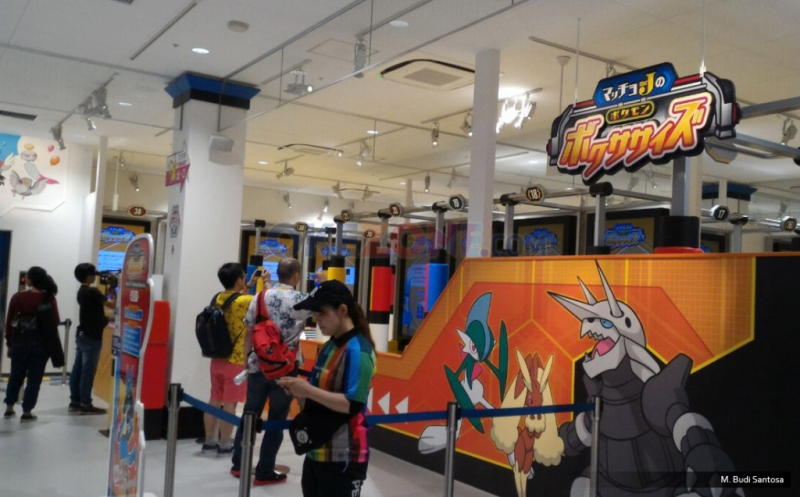 Penampakan Pokemon Expo Gym Osaka
