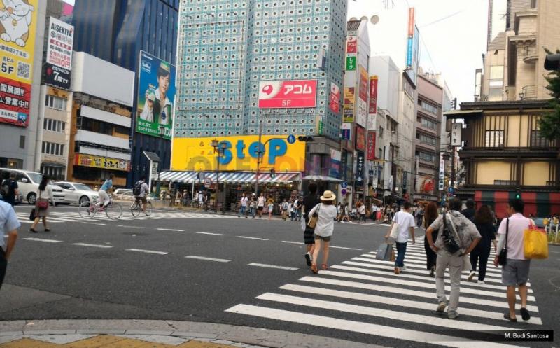 Penampakan Pusat Perbelanjaan di Shinsaibashi Osaka