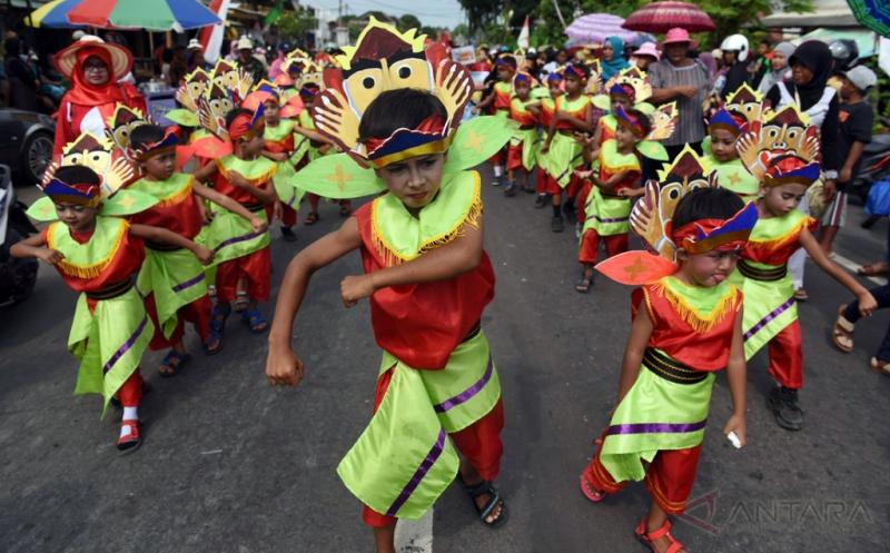 Kemeriahan Karnaval Budaya Gambiran di Banyuwangi