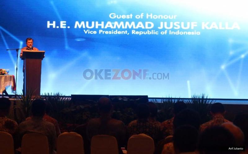 JK Resmi Buka ICT Summit 2016