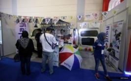 <p>  MNC Play hadir pada acara Franchise & License Expo Indonesia (FLEI) 2016 di Hall B Jakarta Convention Center (JCC), Jakarta, Jumat (2/9/2016).</p>