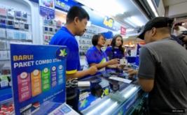 <p>  XL selalu berkomitmen kuat untuk terus meningkatkan kualitas layanan pelanggan sebagai bagian dari tanggung jawab penyedia layanan telekomunikasi.<br />  </p>