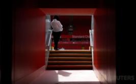 Lorong pemain di Stadion Anfield, Inggris. Kandang baru The Reds ini kabarnya mampu menampung penonton menjadi 54.000.