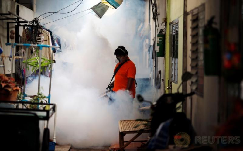Fogging untuk Cegah Penyebaran Virus Zika di Bangkok