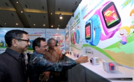<p>  Pameran yang menghadirkan aneka produk elektronik ini digelar 16-18 September 2016.</p>