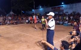 Membludaknya penonton Grand Final turnamen Hary Tanoe Cup 2016 semoga menjadi petanda suara Perindo pada Pemilu 2019 mendatang juga membludak.