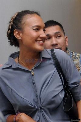 Penuhi Panggilan Polisi, Nadine Diperiksa Kasus Kepemilikan Senjata Api Aa Gatot