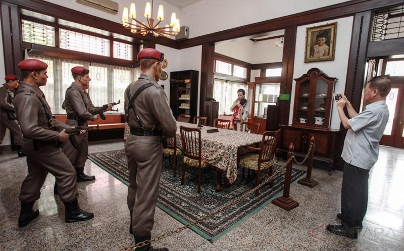 Peristiwa G30S/PKI Tertuang di Museum AH Nasution
